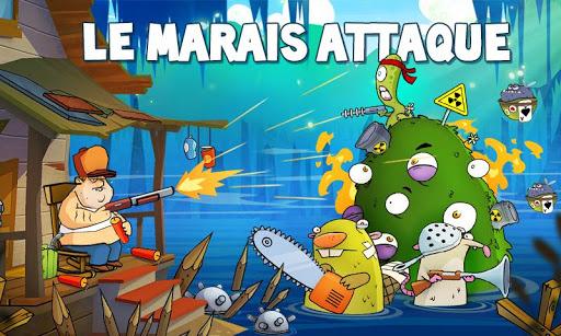 Swamp Attack  captures d'u00e9cran 1
