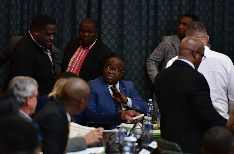 The DA's Mbulelo Manyati abstained from voting in a motion of no confidence against Nelson Mandela Bay council speak Jonathan Lawack in August. File picture