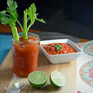 Incredible Salsa Bloody Mary.