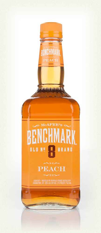 Logo for Benchmark Peach Bourbon