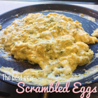 The Best Ever Scrambled Eggs.