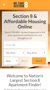 Section 8 Rentals- screenshot thumbnail