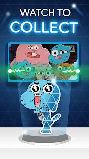 Arcade de rede de desenho animado