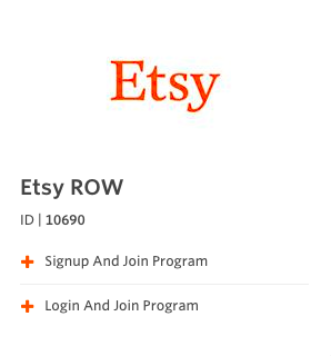 etsy affiliate program