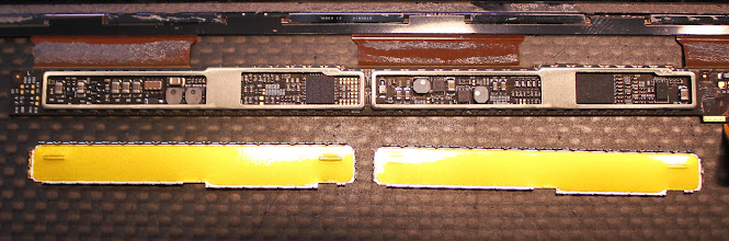 Photo: Driver board shields removed