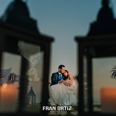 Wedding photographer Fran Ortiz (franortiz). Photo of 17.07.2017