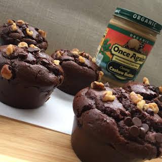 Jumbo Flourless Chocolate Muffins.