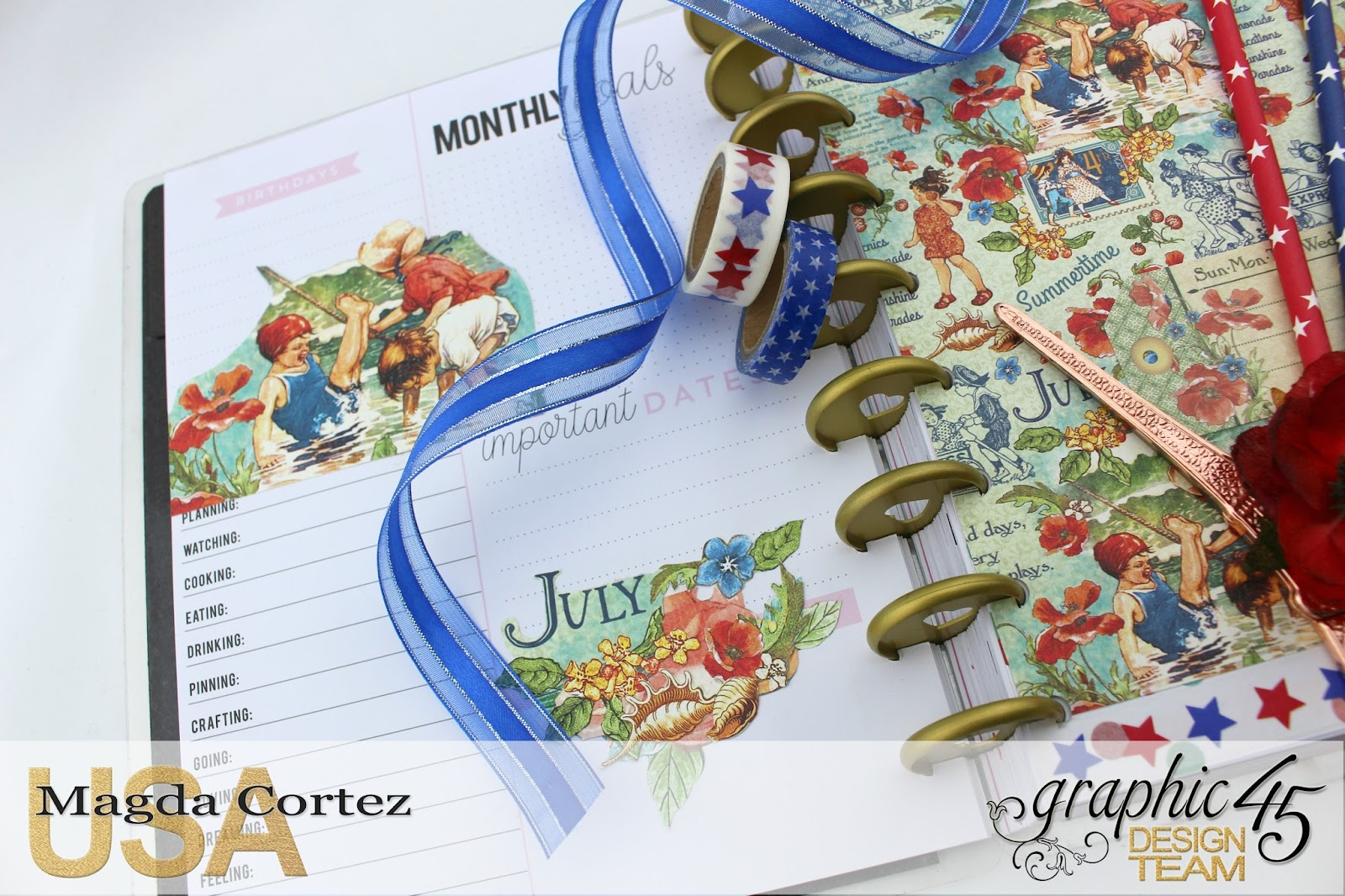 My JULY G45 Planner, Children's Hour By Magda Cortez, Product by G45, Photo 04 of 20  .jpg