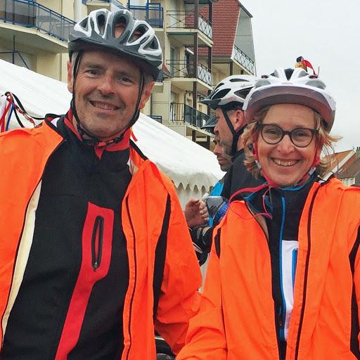 Damien participe au rallye cyclo Lille - Hardelot pour soutenir L'Arche au Bangladesh