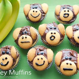Monkey Banana Muffins