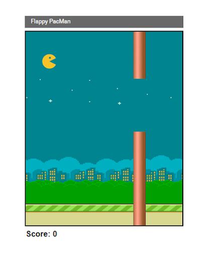 Flappy PacMan Arcade