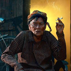 in my older times... by Baron Danardono Wibowo - People Portraits of Men