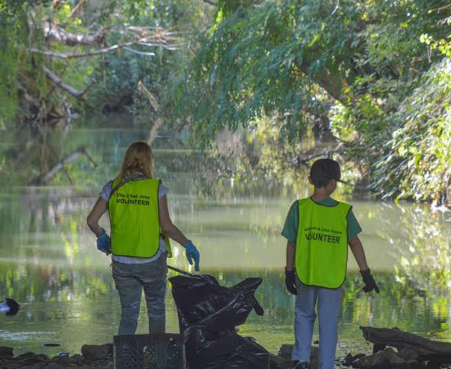 Creek Clean-up
