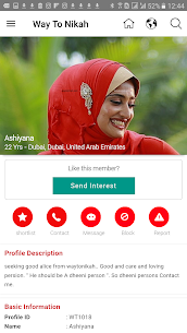 Download Way To Nikah – The Muslim Matrimony App for Android 3