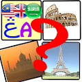 Jawi-Malay-Arabic-English Games : Guess The Place
