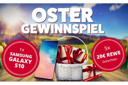 Bild für Cashback-Angebot: Oster-Gewinnspiel