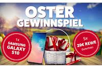 Angebot für Oster-Gewinnspiel im Supermarkt