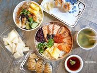 雜誌の壽司(丼飯)