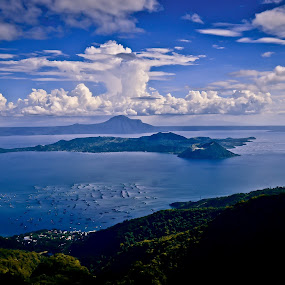 Taal Volcano by Michael Olino - Landscapes Travel