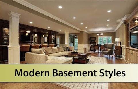 Modern Basement Styles - náhled