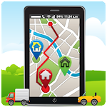 GPS Route Address Finder Icon