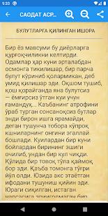 Download САОДАТ АСРИ ҚИССАЛАРИ (1 китоб) For PC Windows and Mac apk screenshot 4