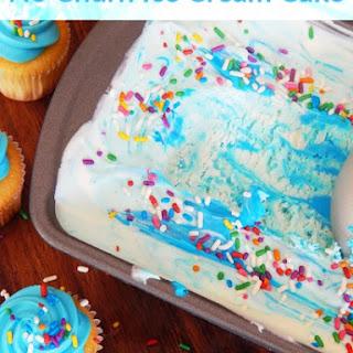 Homemade Ice Cream Cake Recipes- No Churn Ice Cream Birthday Cake
