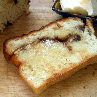 Cinnamon Raisin English Muffin Toast