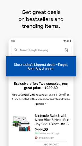 Google Express screenshot 4