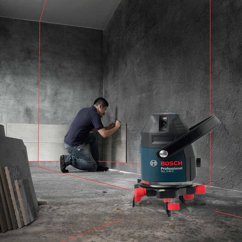 Ứng dụng của máy cân mực laser
