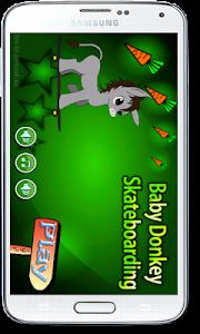 Baby Donkey Skateboarding screenshot 0