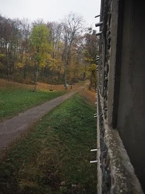Ostatni dzień w La Tourette - spojrzenie za okno