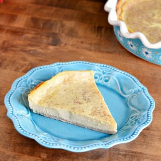 Old Fashioned Holiday Custard Pie