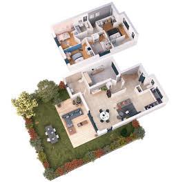 Maison 5 pièces 120,4 m2