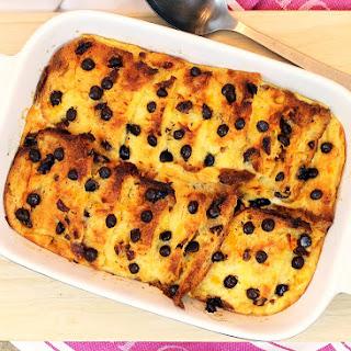 Chocolate Orange Panettone Pudding
