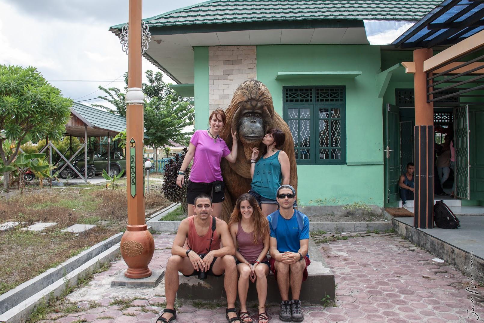 Orangután de Madera