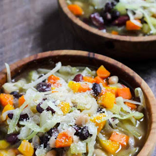 Three Bean Country Cabbage Soup