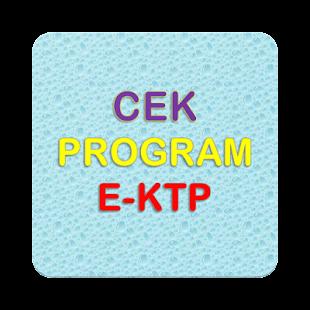 Cek Status E-KTP Online - náhled