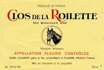 Clos De La Roilette Fleurie Beaujolais Rouge