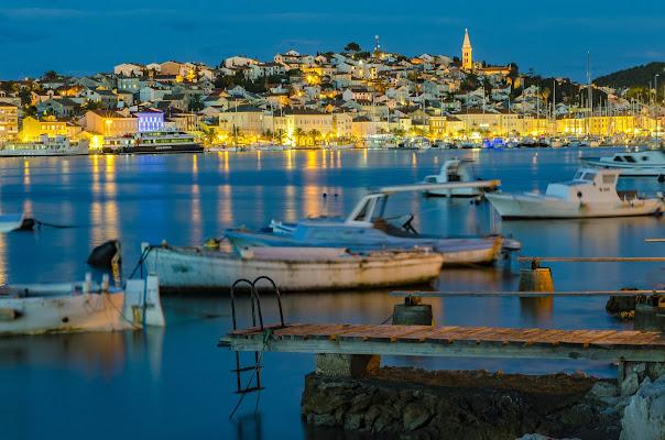La quiete delle barche dei pescatori alla sera di alessandro_bello