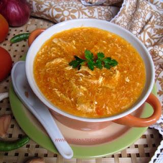 Shredded Chicken Tomato Soup