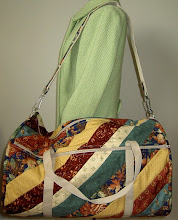 Photo: One of the many bags made from HBH401 - ColorPlay Weekender Bag.