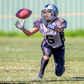 Gridiron Victoria: Ella Gavin by John Torcasio - Sports & Fitness American and Canadian football ( image, ella gavin, action, photo, gridiron victoria )