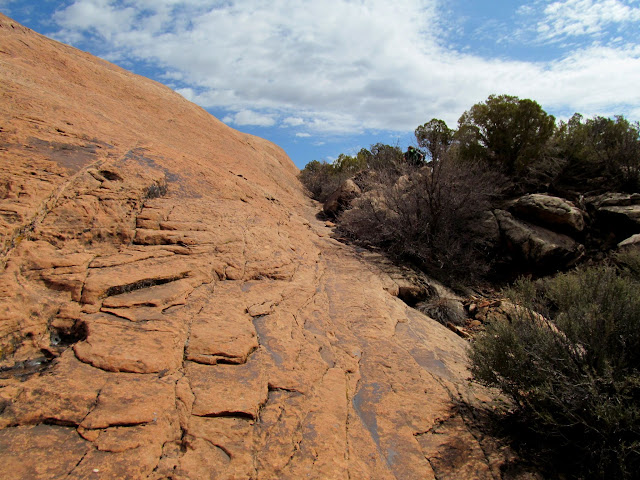 Exploring off the Delicate Arch trail