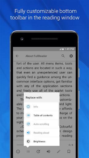 FullReader – e-book reader 4.0.7 screenshots 3