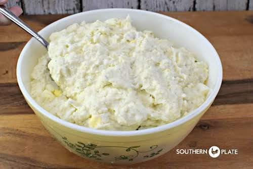 "Thomas BBQ Mashed Potato Salad ""So much of our beloved foods and..."
