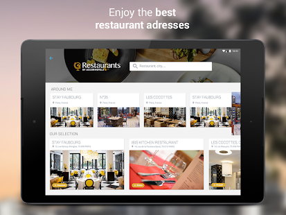 AccorHotels hotel booking- screenshot thumbnail