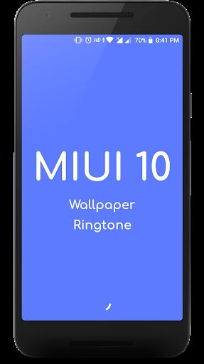 Xiaomi MIUI 10 wallpaper for HD Backgrounds 2.3.7 screenshots 1