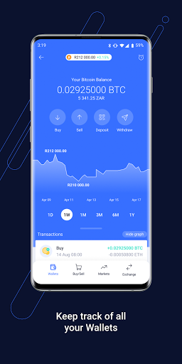 VALR - Bitcoin Exchange & Cryptocurrency Wallet screenshot 6
