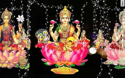 4D Lakshmi Live Wallpaper - náhled